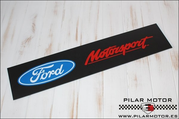 CUBRE MATRICULAS FORD MOTORSPORT